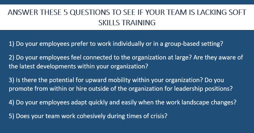 Soft skills questions