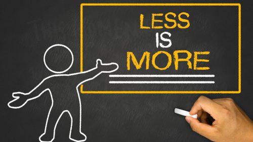 Meetings less is more