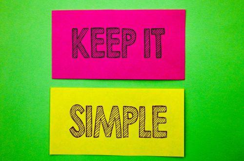 eLearning Design - keep it simple