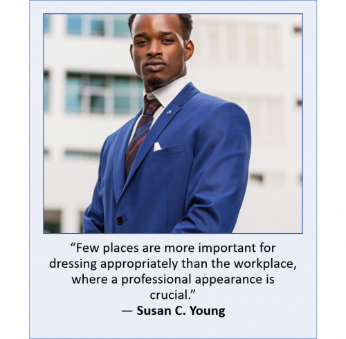 Dressing Professionally quote