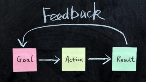 Training feedback