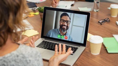 Virtual Mentoring - virtual meeting app