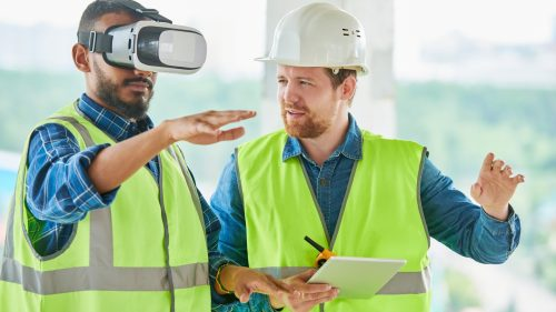 How can VR be used in training development