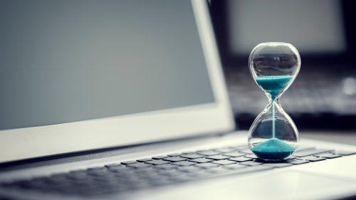 project management app hourglass