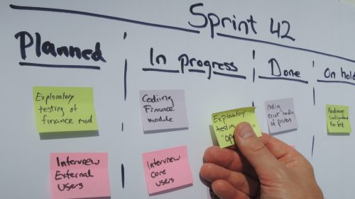 Project management scrum