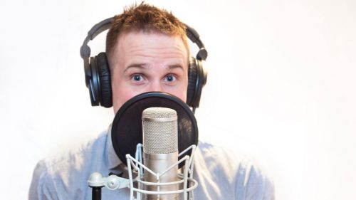 Voice over artist - roles in elearning development