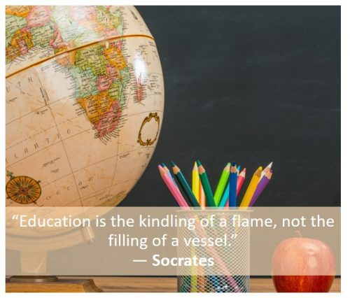 Blended learning quote