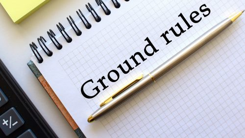 Train the trainer best practices - ground rules